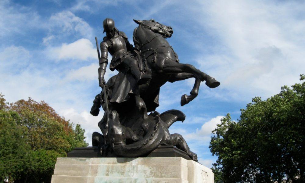 St-George-and-Dragon-bronze-@AnneMarieCraven