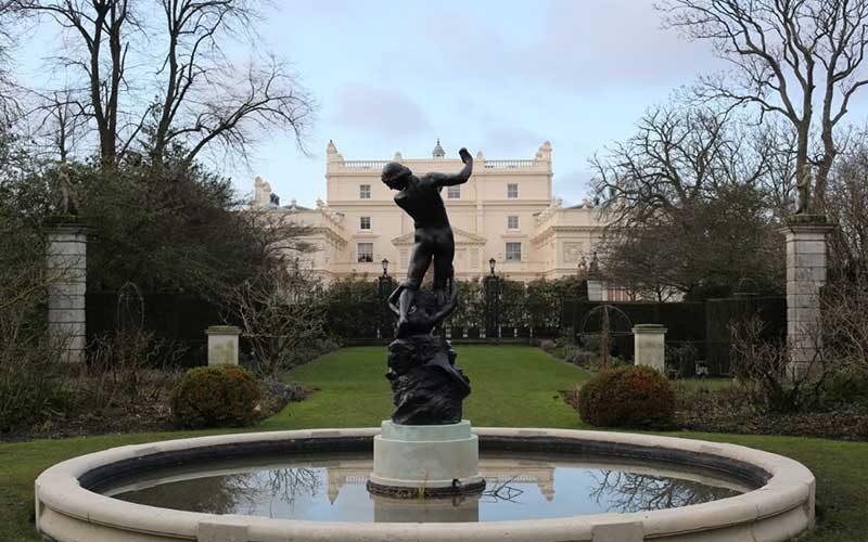 Hylas Statue